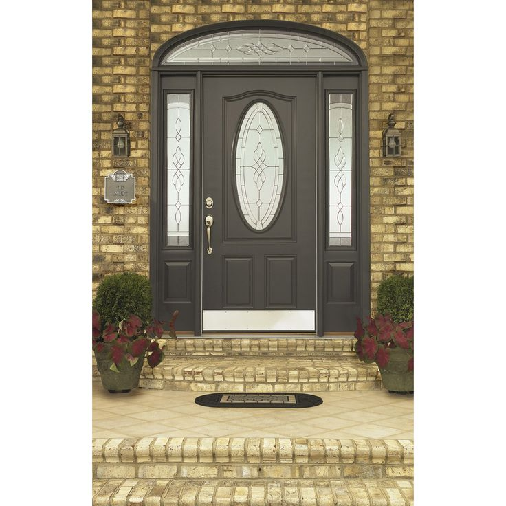 9 best entry doors lowes images on pinterest fiberglass entry shop reliabilt hampton decorative glass right hand inswing primed steel prehung entry door with insulating core common x actual planetlyrics Image collections