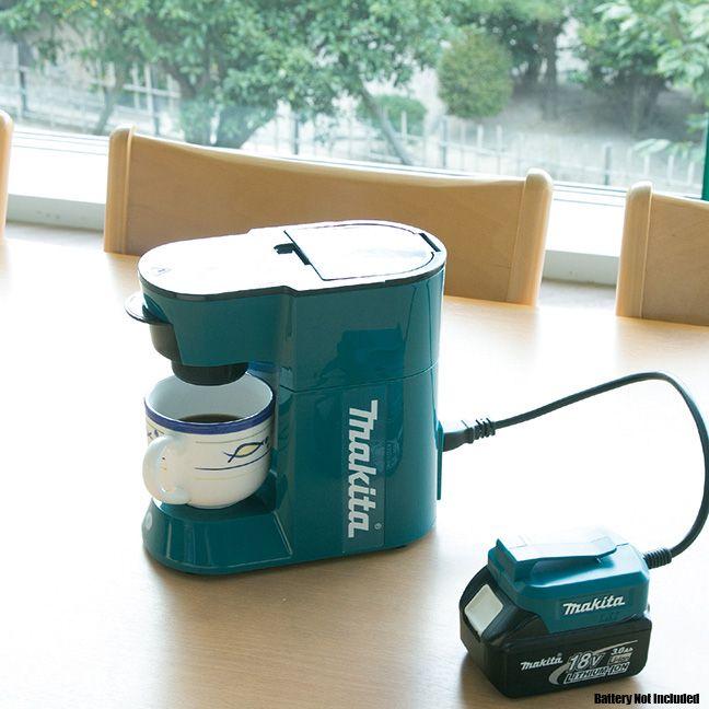Makita Dcm500z Cordless Coffee Maker 18volt Lxt Or 115volts