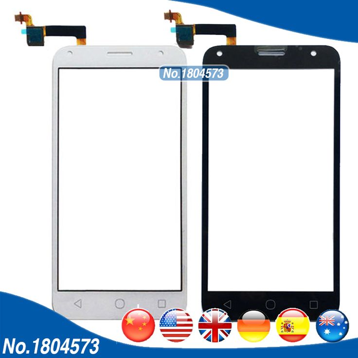 Touch Panel Replacement Glass Len For Alcatel One Touch PIXI 4 OT5010 5010D 5010E 5010G Touch Screen Digitizer 1PC/Lot #Affiliate
