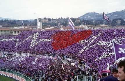 FIORENTINA (ITA) Curva Fiesole - Il cuore che batte