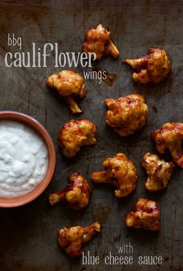 barbecue cauliflower wings