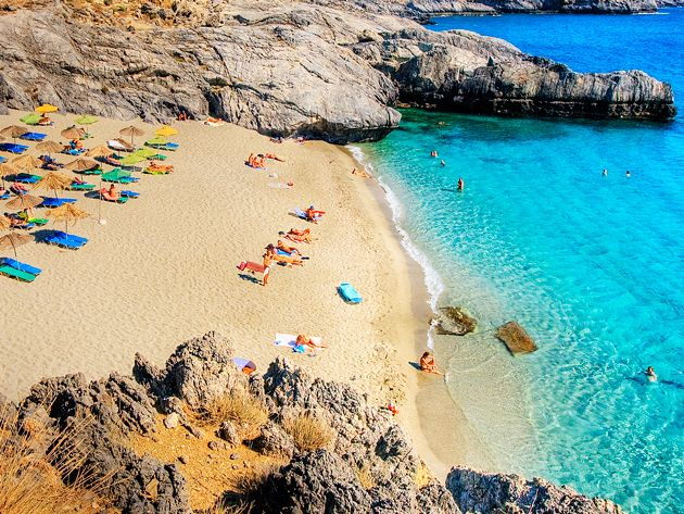 Amoudaki beach, south coast  #rethymno #greece #crete #summer_in_crete #beach