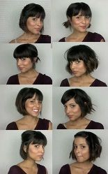 How to style short hair!