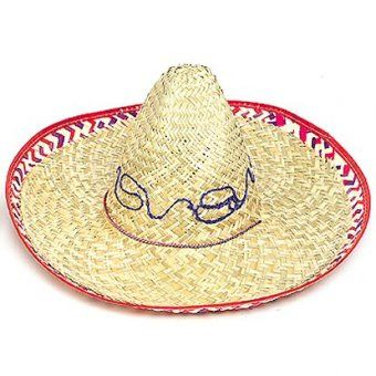This Mexican Sombrero is perfect for a Mexican Fiesta, Carnivals, Spanish Parties, Wild West Parties and Piñata Parties.
