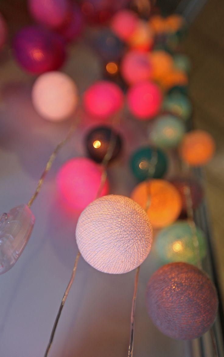 Cotton Ball String Lights on display at SARCDA 2015