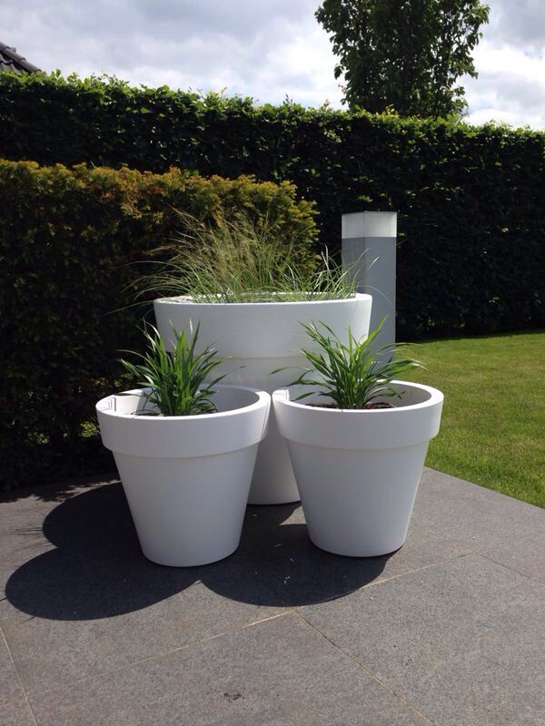 225 geselecteerde idee n over interieur eigen tuin door leeman0306 tuinen planters en - Decoratie jardin terras ...