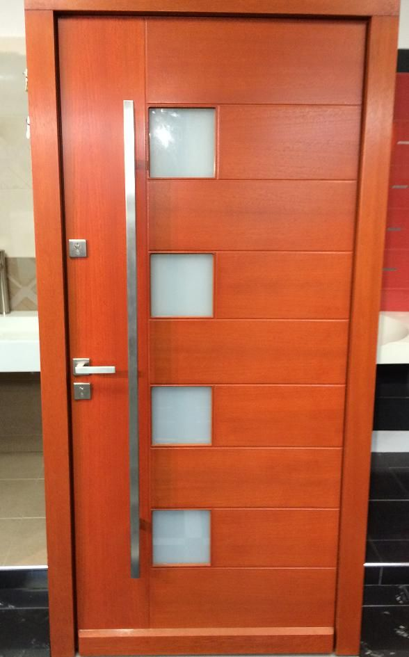 10 best Modern Wood Front Entry Doors For Your Home - Size W 42\