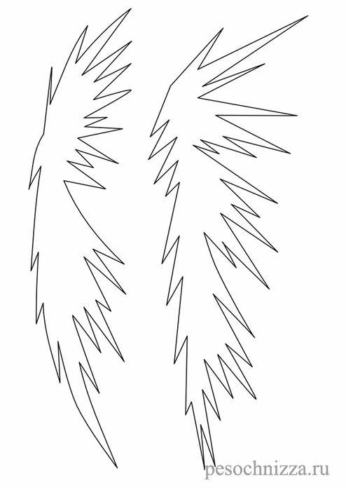 новогодние трафареты на окна для вырезания из бумаги схемы шаблоны ветки елки: 21 тыс изображений найдено в Яндекс.Картинках