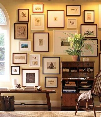 gallery wall by colorcrazy