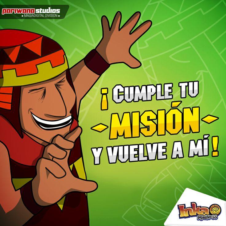 Recuerda volver siempre al Chamán para activar tus poderes, una vez que cumplas tus misiones. #inkamadness #peru #games #apps #App #ios #wp