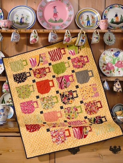 10 Best Coffee Cup Quilt Ideas Images On Pinterest