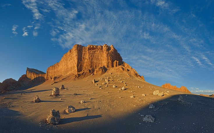 Amphitheatre. Valle De La Luna. Desierto De Atacama. Chile.