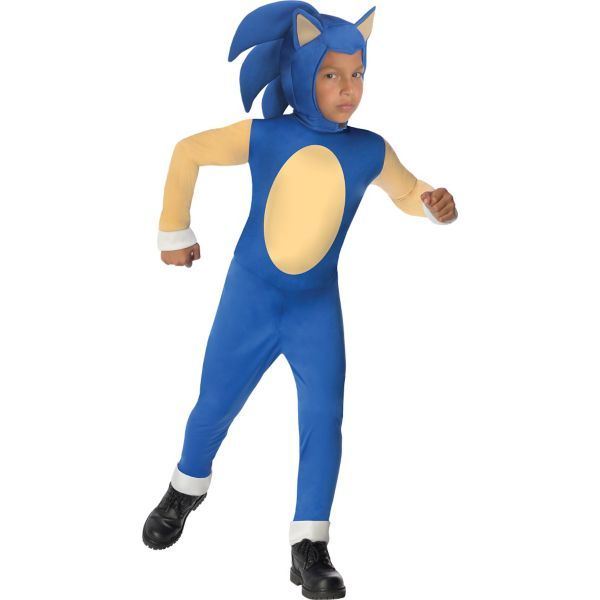 Boys Sonic Costume - Sonic the Hedgehog MEDIUM