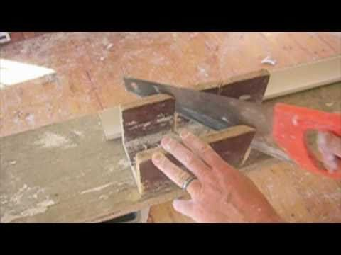 Cornice - How to mitre cut - Part 1