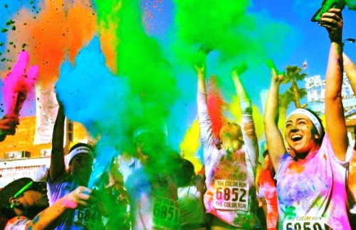 Happy Colors Inspiration Happy Colors  The Color Run™  Pinterest  Happy Colors Inspiration Design