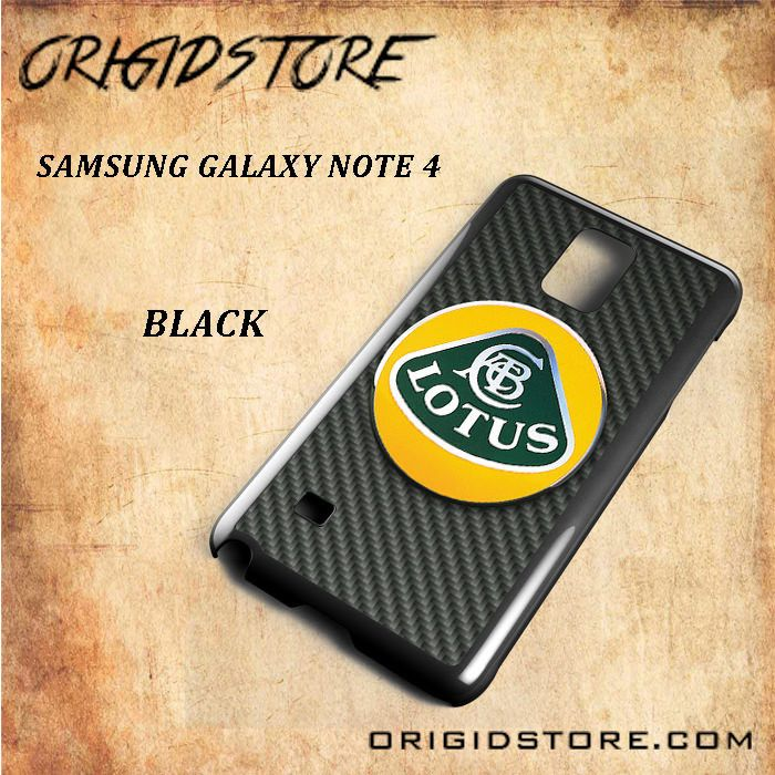 Lotus F1 Racing Team For Samsung Galaxy Note 4 Snap On and 3D Case