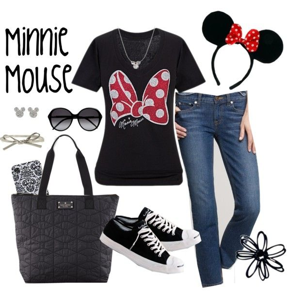 A fashion look from December 2012 featuring polka dot t shirt, stretch blue jeans and shopping tote bag. Browse and shop related looks.