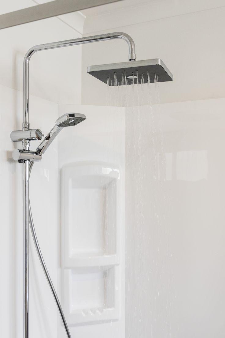 Waipori Satinjet shower system from Methven