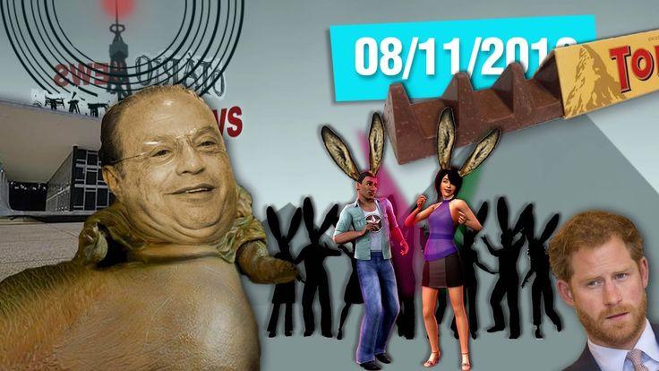 Dança do Protesto, Maluf Jabba, Toblerone Banguela e Príncipe Harry namo...
