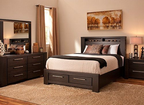 this is the bedroom set that i own from raymour flanigan it is low