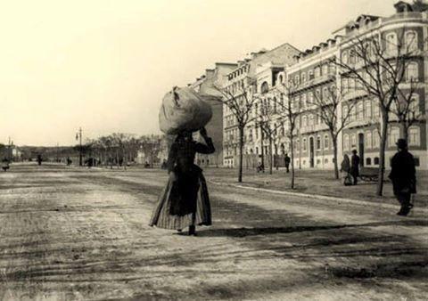Avenida da Liberdade. Foto: Bobone, c. 1912. LISBOA DESAPARECIDA, volume I de MARINA TAVARES DIAS