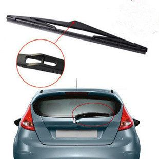 "For Ford Fiesta 2008 2009 2010 2011 2012 2013 2014 12"" Rubber Rear Window Windscreen Wipers Windshield Wiper Blades #Affiliate"