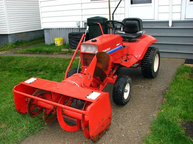 Gravely 8163 With 48 Quot Snow Cannon Tractors Pinterest