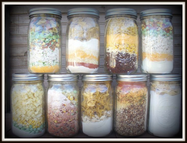 Meals in a Jar (Just add water!)