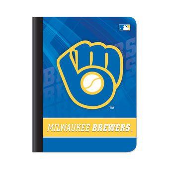 Milwaukee Brewers Team Logo Composition Book