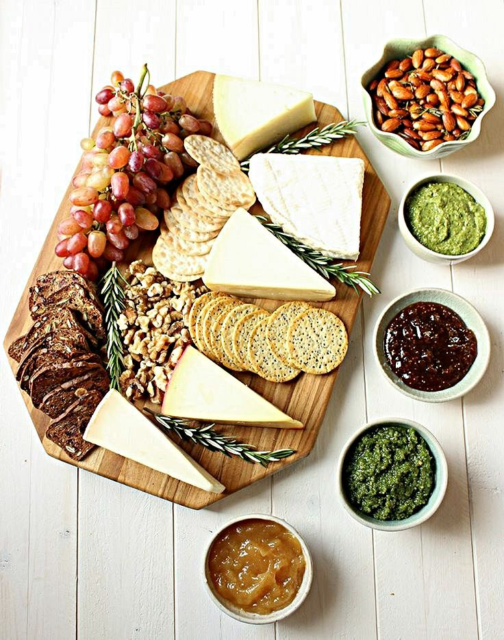 A Cheese Board Idea For Your Next reunion