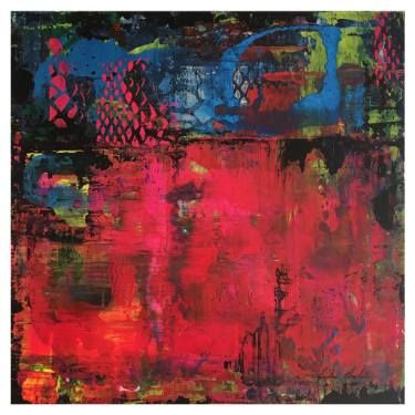 "Saatchi Art Artist Linda Charles; Painting, ""'Powscape' by Linda Charles"" #art"