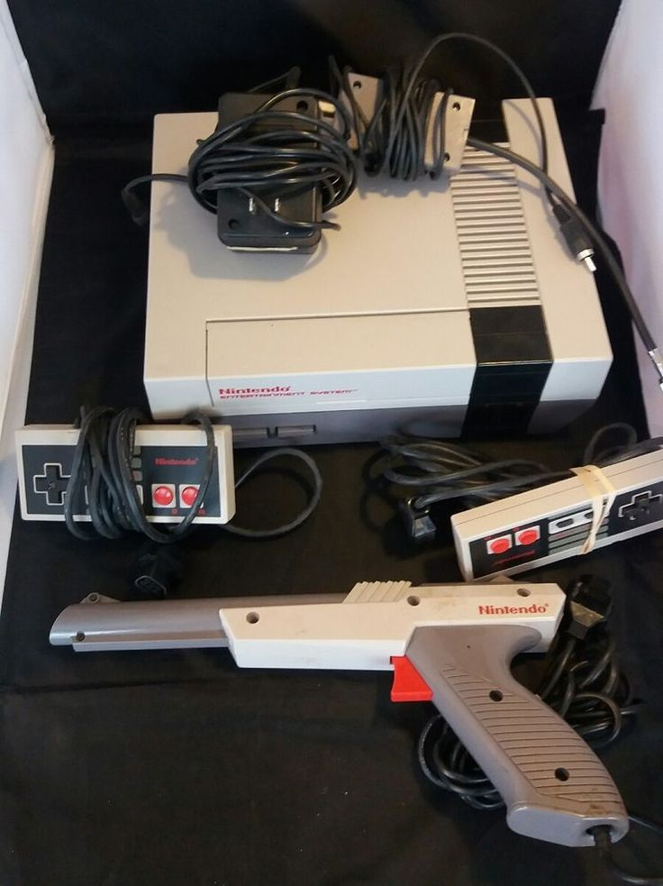 Nintendo NES Classic Game Console W/ Controllers and Gun | Video Games & Consoles, Video Game Consoles | eBay!