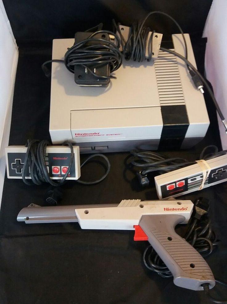 Nintendo NES Classic Game Console W/ Controllers and Gun   Video Games & Consoles, Video Game Consoles   eBay!