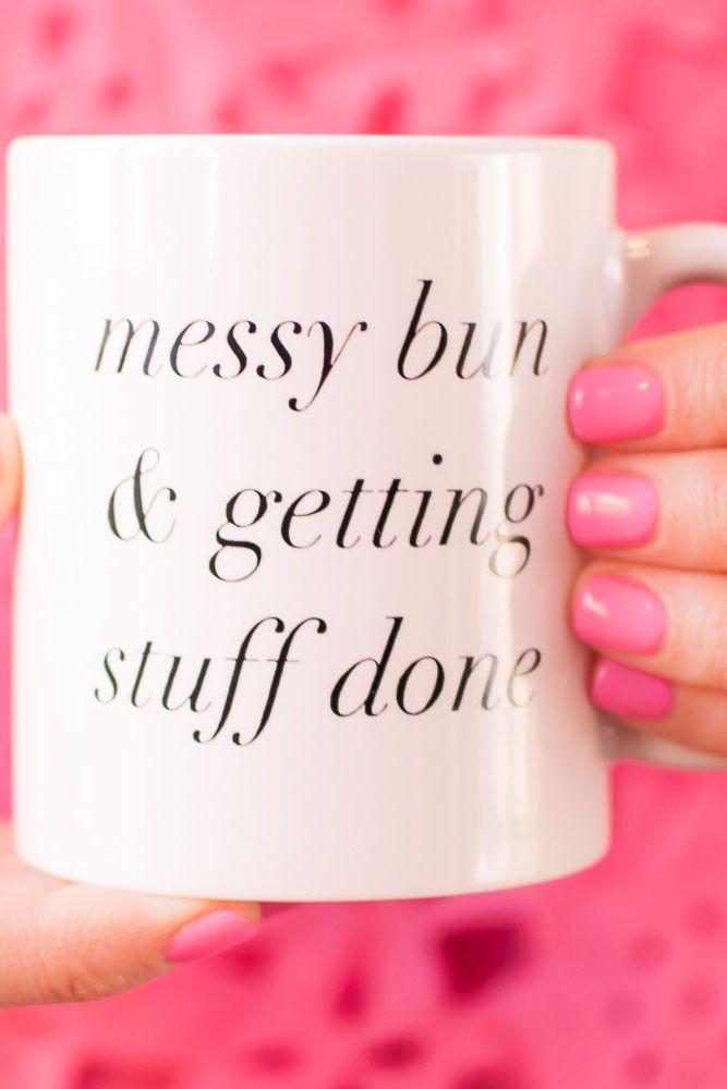 Messy Bun Mug – charm & gumption