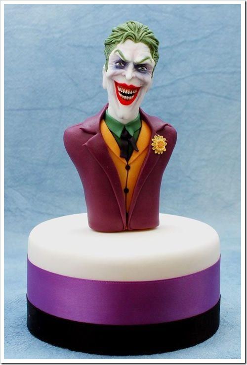 Joker Cake made by Torte in Pasta di Zucchero Sugar Factory