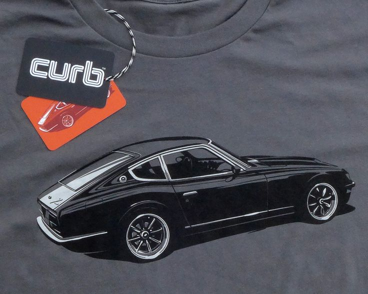 Curb Datsun 240Z TShirt Shops, Cars and Last minute