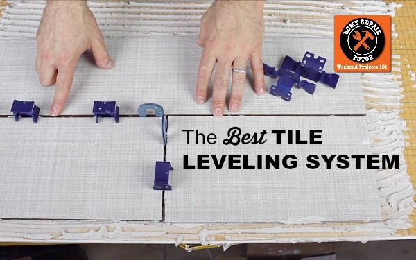 Learn how to get perfect grout joints with the Tuscan Tile Leveling System. I couldn't imagine tiling without it!!!