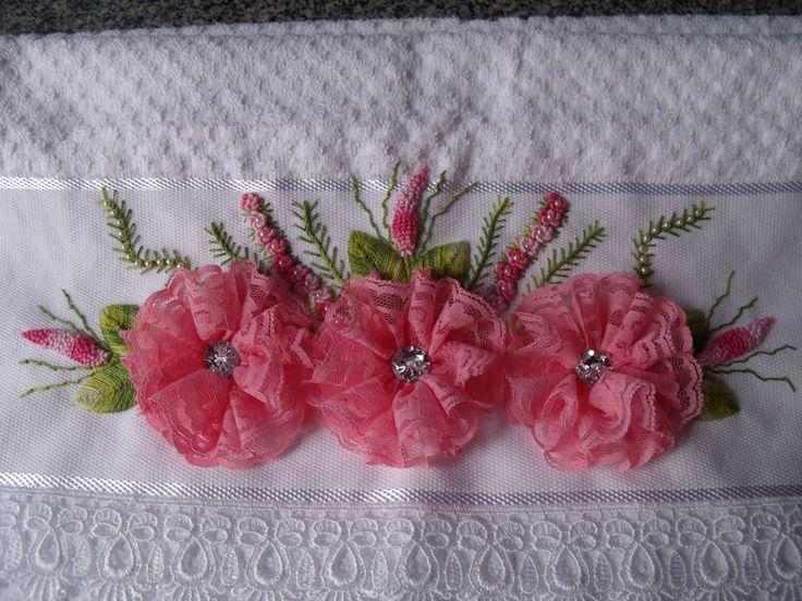 Flores de renda