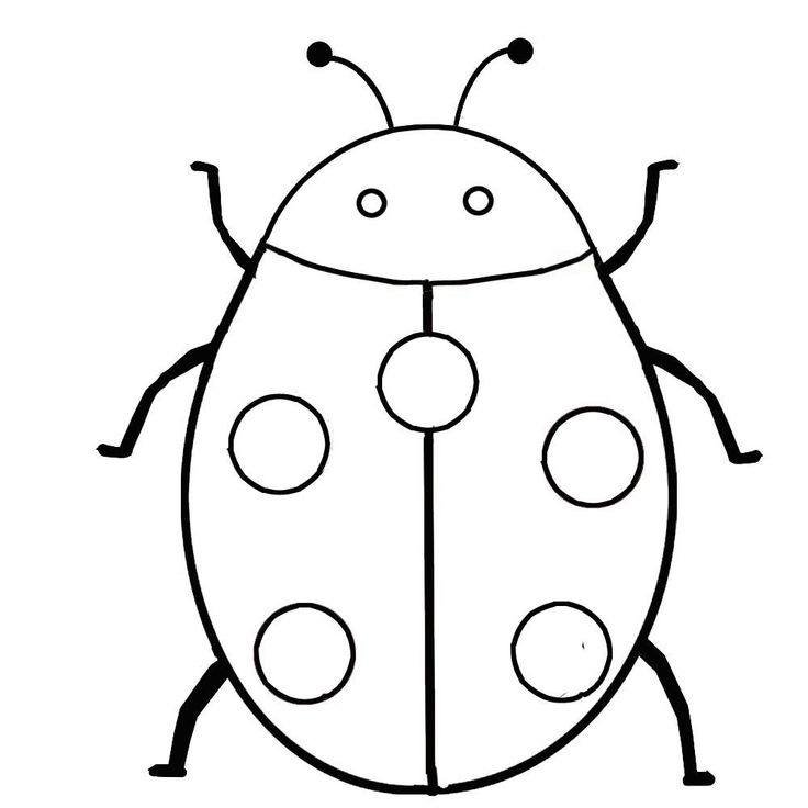 free printable bug coloring pages - photo#25