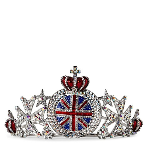 BUTLER & WILSON Union Jack crown tiara Selfridges
