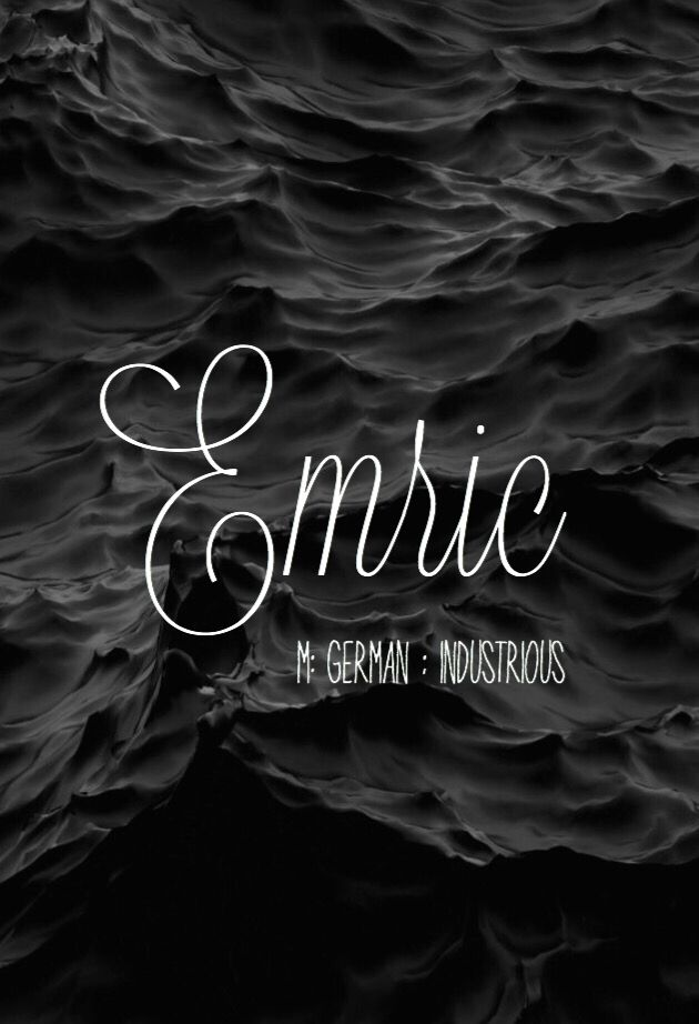 Emric - gorgeous baby boy name!