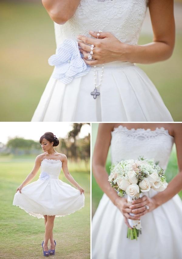 short wedding dress?