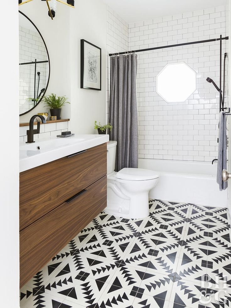1680 best beautiful bathrooms images on pinterest - How do you tile a bathroom floor ...