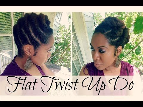 Remarkable 17 Best Images About Natural Hair 2 Strand Flat Twist Hairstyles For Women Draintrainus