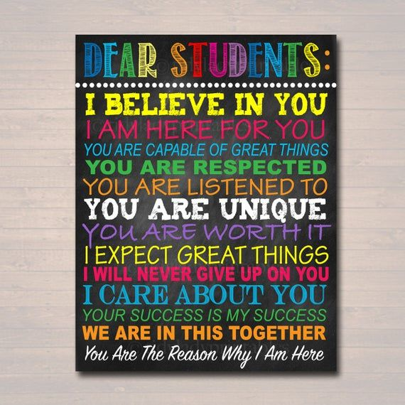 Estimado sano aula profesor cartel signo, consejero escolar arte ...