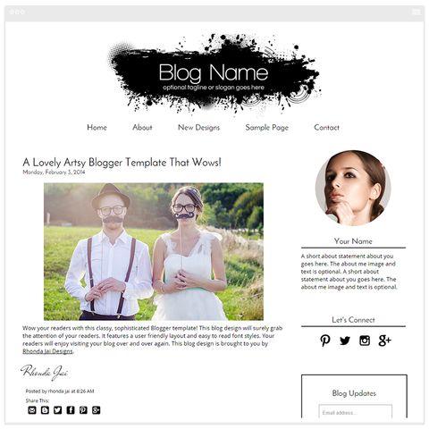 35 best Beauty Blog Design Templates images on Pinterest Blog
