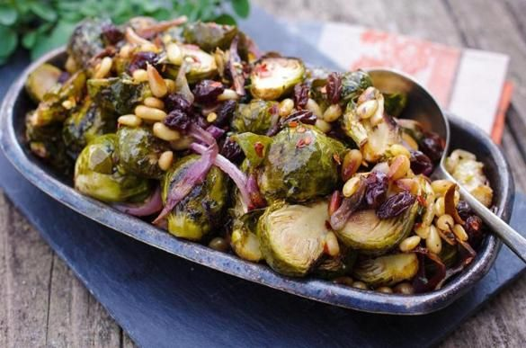 Sweet And Sour Brussel Sprouts Food Network