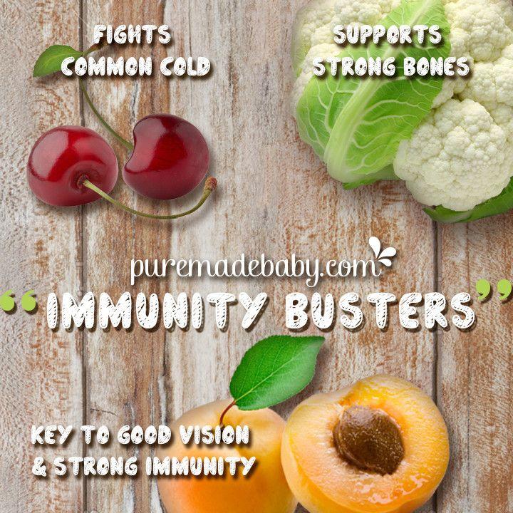 Puremade Baby | Immunity Busters | Organic Baby Food Recipe