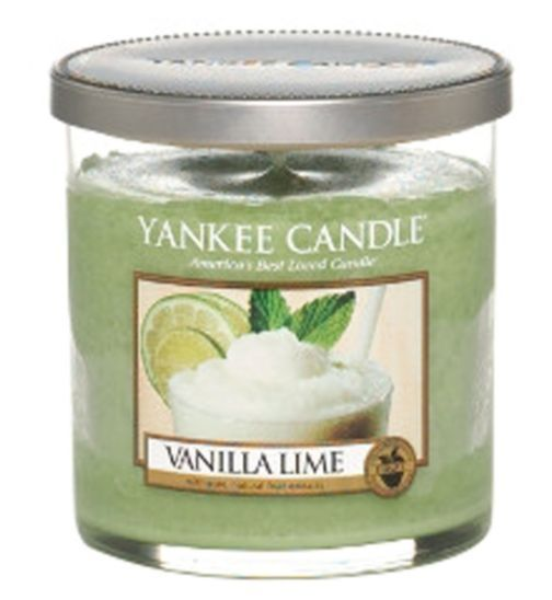 Buy Yankee Candle Small Pillar Candle in Vanilla Lime - Boots