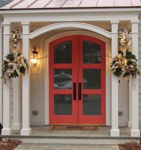 Coral Front Door      Island Posh: Coral Front Door